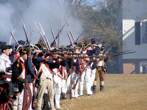 Historic Camden, SC Revolutionary War Field Days