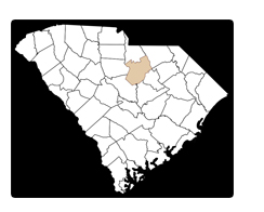 Kershaw County in South Carolina