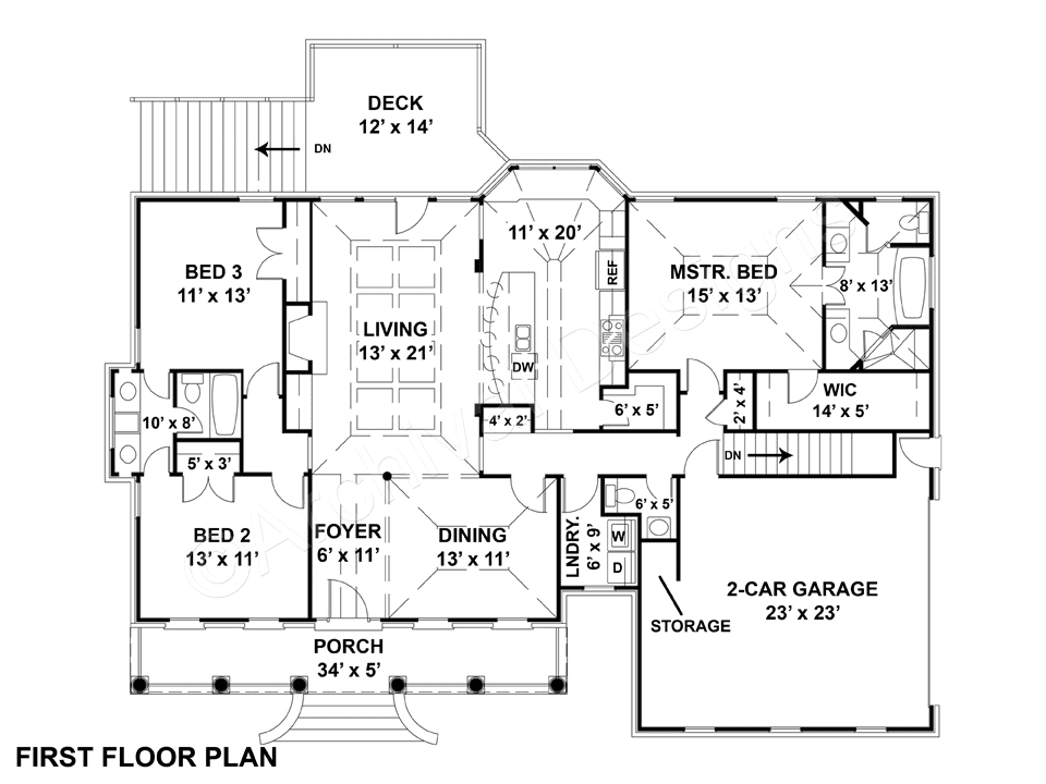 113 Sycamore Road Layout